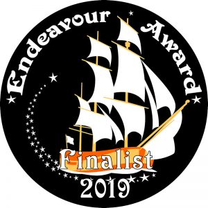 2019 Endeavour Award Finalist badge